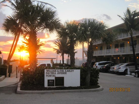 Windjammer Resort: Sunset