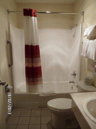 Red Roof Inn San Diego - Pacific Beach/SeaWorld: Bathroom