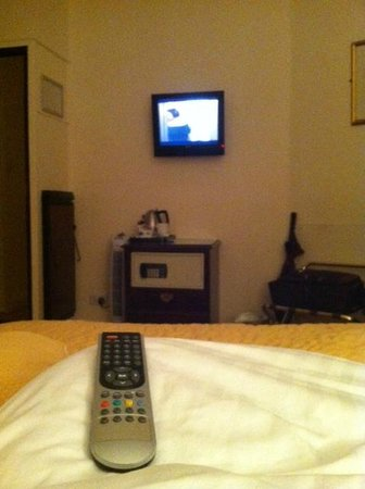 Granville Hotel: The TINY TV!