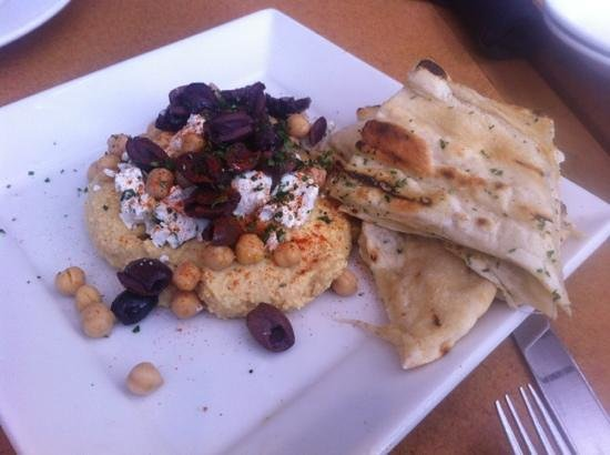 Cafe Bistro - Nordstrom San Francisco: hummus - so good but too much to finish