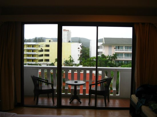 The Old Phuket: our little balcony