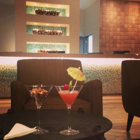 "Best Western Premier Petion-Ville: ""Sacha Cocktail"" and Front desk area"