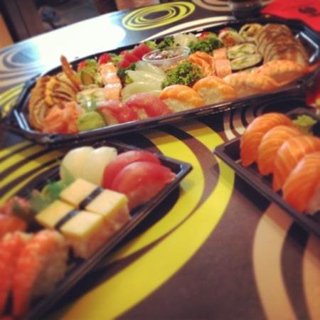 Zaowang: take away sushi zao wang +10