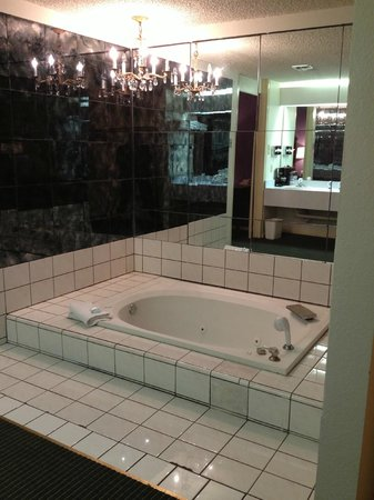 BEST WESTERN Stevens Inn: Open concept bath tub area?