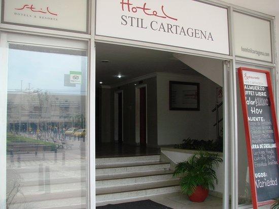 Hotel Stil Cartagena: entrada