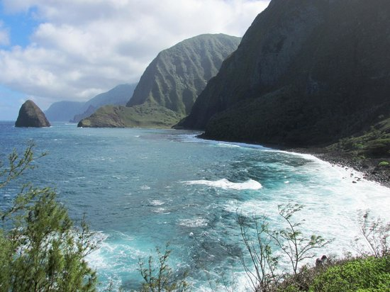 Molokai Mule Ride : View from Kalawau