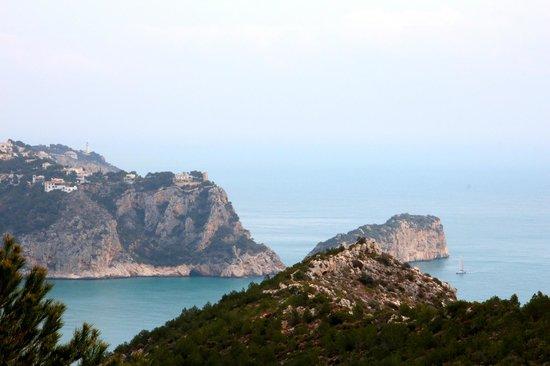 Playa La Granadella: Uitzicht Granadella