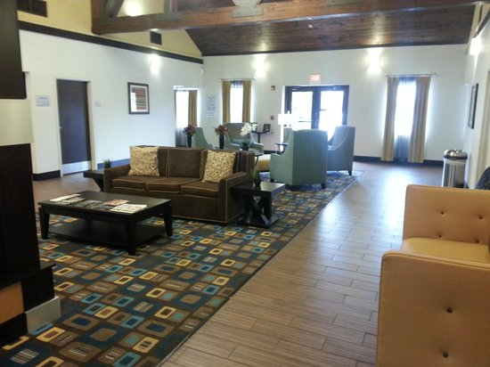 Hampton Inn and Suites Cleveland Airport / Middleburg Heights: Lobby