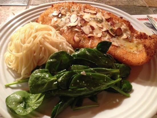 Bocca Pure Italian Ristorante: Parmesan-Almond Crusted Fish