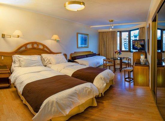 Hotel Cristal: habitacion superior Twin con vista a la calle Mitre