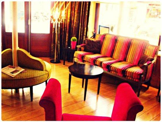 Hotel Cordelia: Lobby.