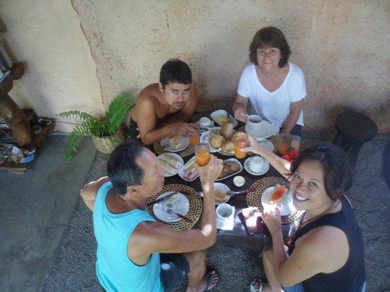 Pousada Pomar da Pipa: Pomar da Pipa - café da manhã delicioso!!