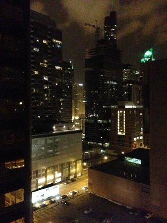 Doubletree by Hilton Chicago Magnificent Mile: view from room 1807