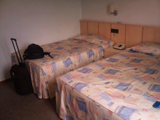 Himmelblau Palace Hotel: vista do quarto