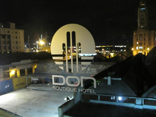Don  Boutique Hotel: rooftop view