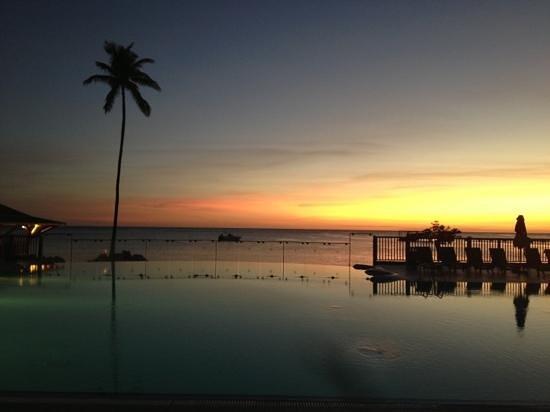Couche de soleil piscine et mer foto di club med for Club piscine soleil chicoutimi