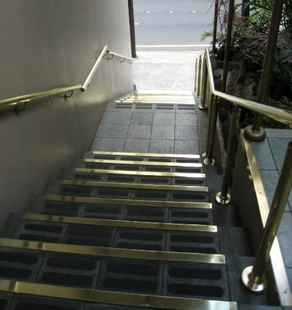 The Equus Hotel: stairs