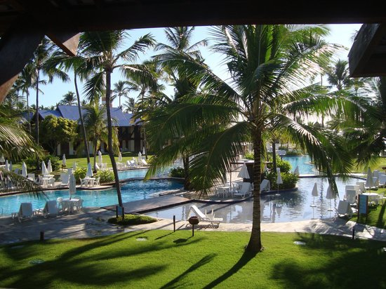 Summerville Beach Resort: vista do quarto 218