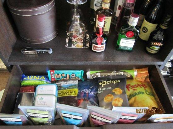 Kimpton Solamar Hotel : My mini bar