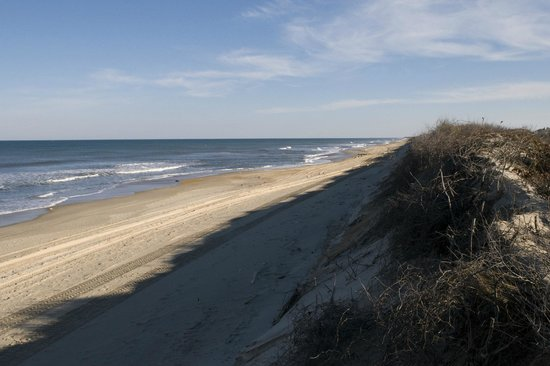 Hampton Inn & Suites Outer Banks/ Corolla: Beach View from Hampton Inn Dune Deck