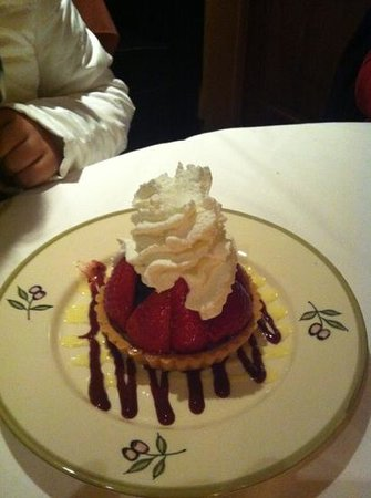 Osteria Laguna Restaurant: fruit tart