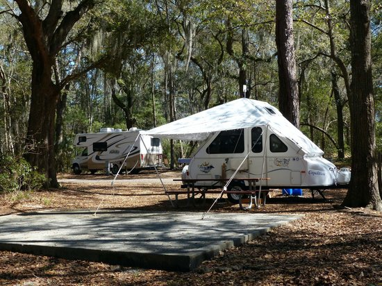 Skidaway Island State Park Camping Under The Live Oaks Of Sp