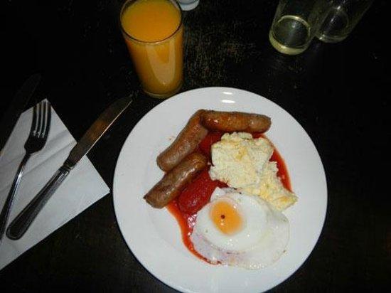 Malthouse Farm: english breakfast
