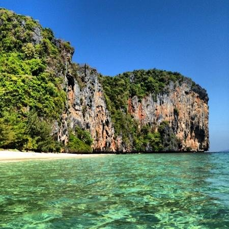 Laoliang Island Resort: climbing wall