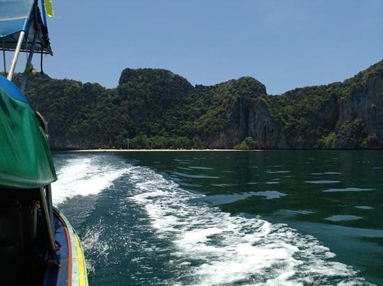 Laoliang Island Resort: leaving