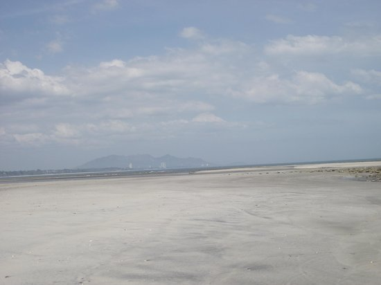 Manglar Lodge: Solid beach to walk along