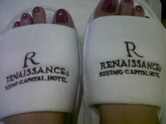 Renaissance Beijing Capital Hotel: Comfy