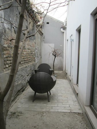 The Orchid Hotel: Private courtyard of Yin Room. Orchid Hotel , Beijing