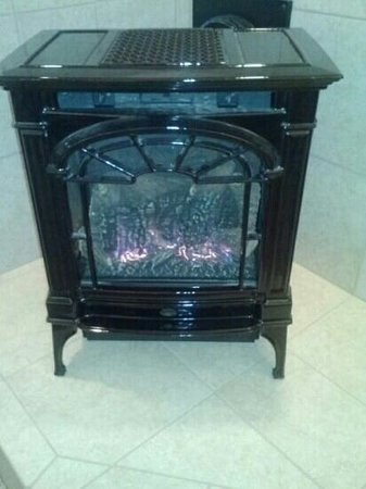Carmel Fireplace Inn: this warms the entire home