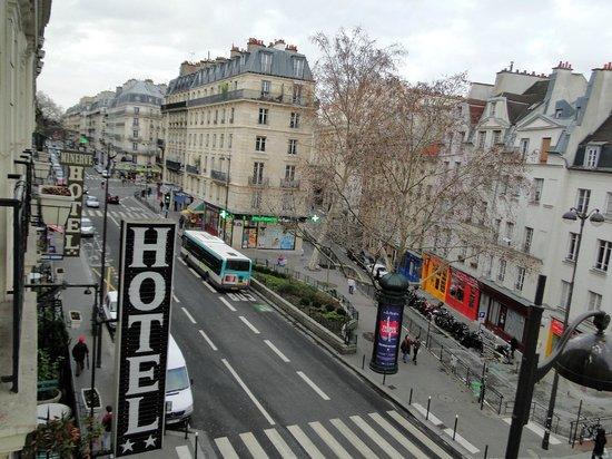 Hotel Quartier Latin: Vista desde la habitación