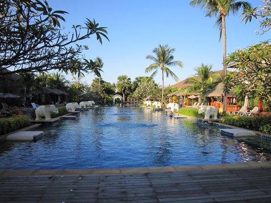 Bandara Resort & Spa: View of the garden and pool