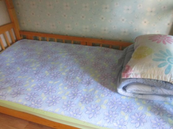 Blue Backpackers Hostel: Bottom bunk