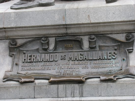 Memorial to Ferdinand Magellan: Magellan Monument