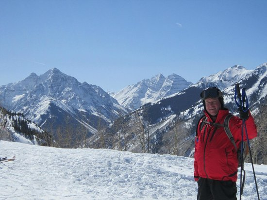 Aspen Snowmass: Terrific views (this one from Highlands)