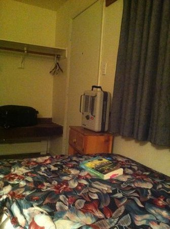 Roost Lodge: my heater for the night