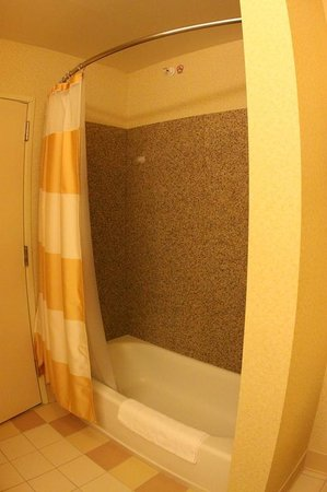 Fairfield Inn & Suites Clovis: Shower area