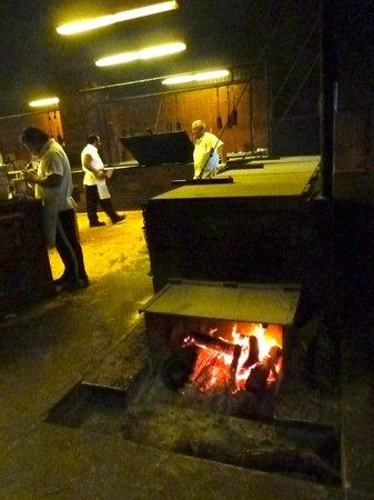 Kreuz Market - BBQ fire pit