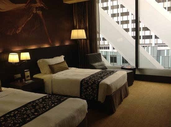 Grand Park Orchard: twin room