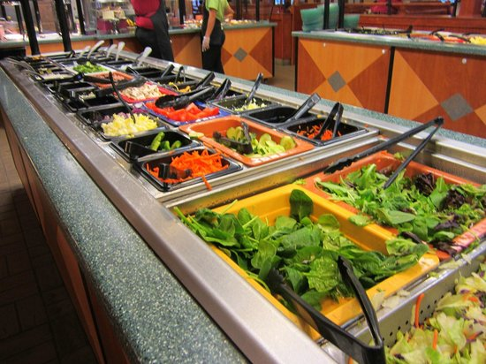 salad bar picture of ryan 39 s grill buffet bakery. Black Bedroom Furniture Sets. Home Design Ideas
