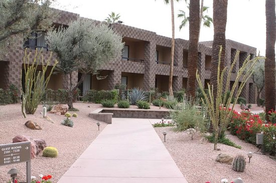 DoubleTree Resort by Hilton Paradise Valley - Scottsdale: Rock gardens