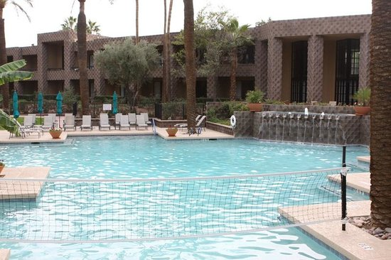 DoubleTree Resort by Hilton Paradise Valley - Scottsdale: One of the pools, this one is at the very end of the property
