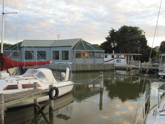 Boat Haven Studios: View from the pier