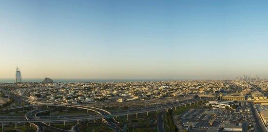 Sheraton Dubai Mall of the Emirates Hotel: Panoramic View