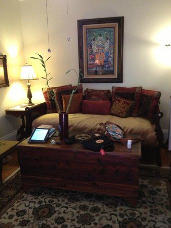 نيو أورليانز جاز كوارترز: Fountain Living Room