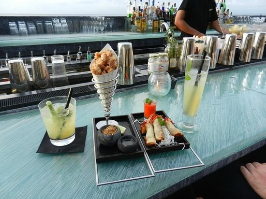 Carte Rock Bar Bali.Rock Bar Small Bites Cocktails Picture Of Ayana Resort