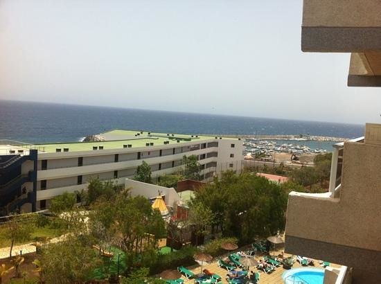 Aguamarina Golf Hotel: view from our room